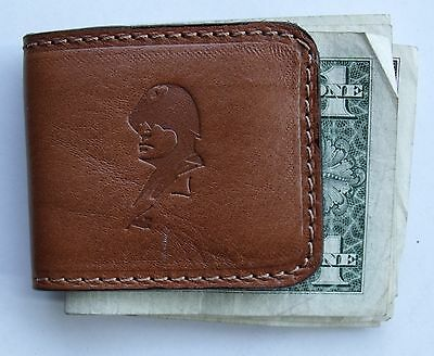 Mussolini Beautiful Money Clips Leather
