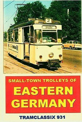 Small-Town Trolleys of Eastern Germany - DVD Video