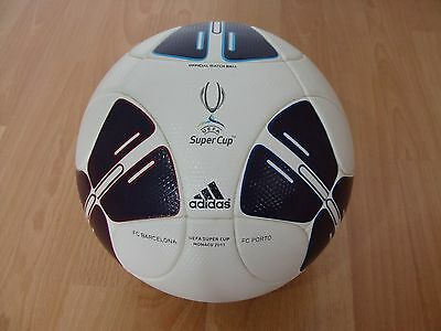 Adidas SUPERCUP 2011 OMB Matchball with Imprint FC BARCELONA - FC PORTO