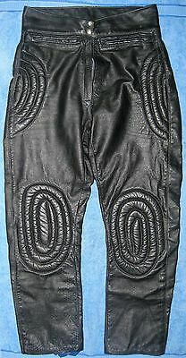 Motocross Leather Pants- Vintage Australian 1960's- Ex Condition