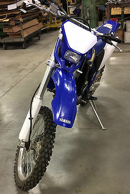 1998 Yamaha WR  1998 Blue & White Yamaha WR 400 F with Only 50 Miles On It!!!