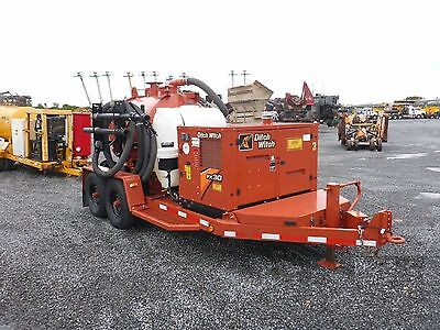 2016 Ditch Witch Fx30-500 Diesel Vacuum Trailer - 1-Owner, Only 93  Hours!