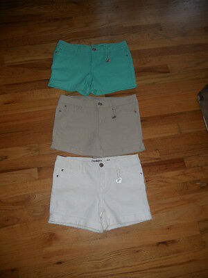 CELEBRITY PINK Shorts 3 Pairs   *NEW*    Girls Size 16