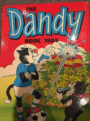 The Dandy Book 1984 Rare Original And Collectable