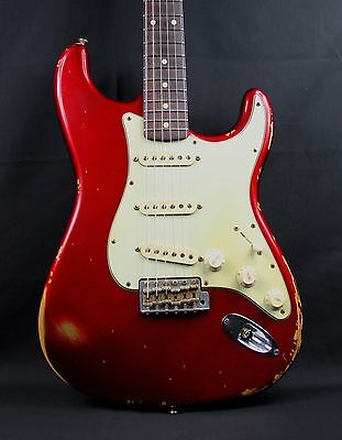 Fender Custom Shop 1960 Stratocaster Heavy Relic With Abigail Ybarra Pickups
