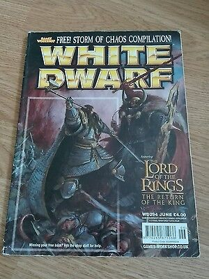 Games Workshop White Dwarf Magazine Issue 294 Lord Of The Rings