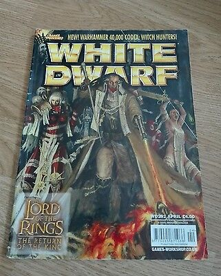 Games Workshop White Dwarf Magazine Issue 292 Lord Of The Rings