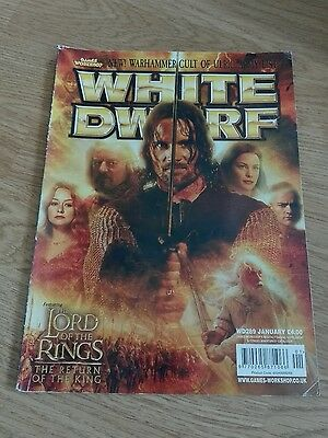 Games Workshop White Dwarf Magazine Issue 289 Lord Of The Rings