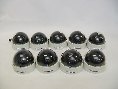 "LOT OF 9 Optiview PRODOME Dome Camera, Color 1/3"" Sharp CCD"