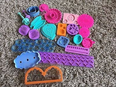 Cake Decorating Icing Mounds And Cutters Bundle