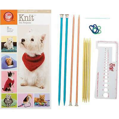 I Taught Myself To Knit Pet Clothes 070659919855