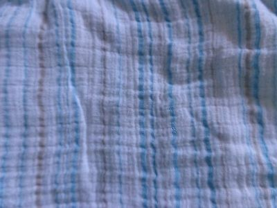 ADEN + anais GREEN Brown lines/STRIPE swaddle SWADDLING baby BLANKET