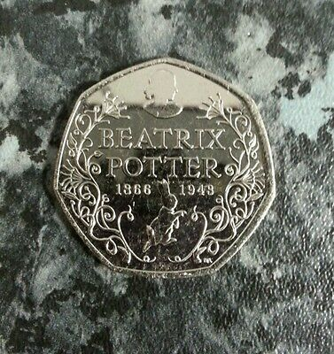 150th Anniversary Beatrix Potter 50p Coin Rare! NEXT KEW GARDEN FROM SEALED BAG