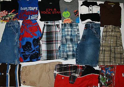 Boys Size 6 Summer Clothing Lot Of 16 Pieces