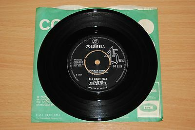 "PINK FLOYD See Emily Play UK 7"" LOVELY 1967 COLUMBIA DB 8214"