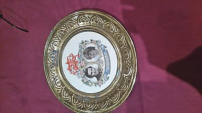 comerative plate. marriage of prince of Wales and Diana 29th July 1981
