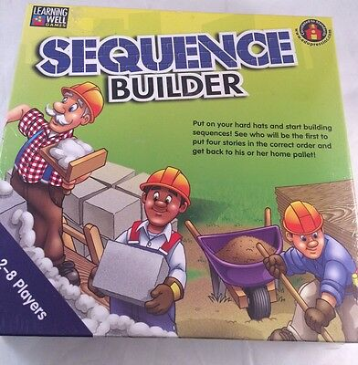 Home School Sequence Builder Learning Well  Reading Level 3.5-5 Game