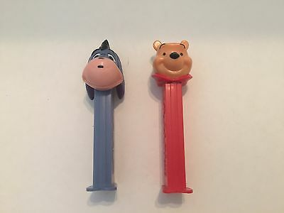 Winnie The Pooh and Eeyore Pez Dispensers