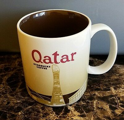 Starbucks Coffee Cup Mug Qatar Original Sku#