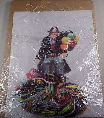 Royal Doulton Balloon Man Crewel Embroidery Kit Crown Elegance #RD-104
