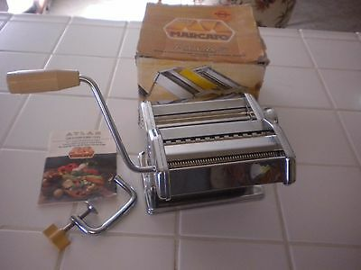 Marcato Atlas Model 150 Italy Noodle Maker Machine Pasta