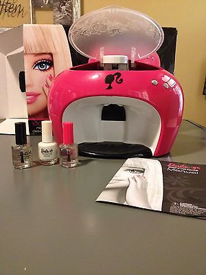 2008 Barbie Doll'd Up Nails Digital Printer Partial As Is
