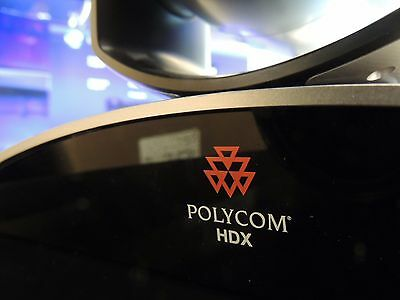Polycom HDX 8000 Teleconferencing System-used working