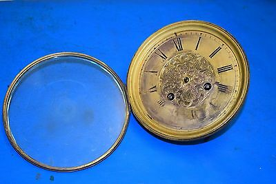 antique french  clock movement  1