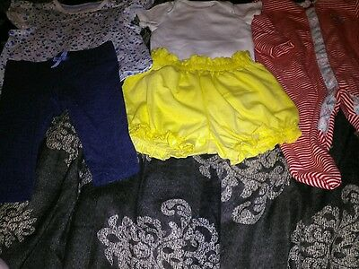 Baby girls up to 1 month bundle of clothes.