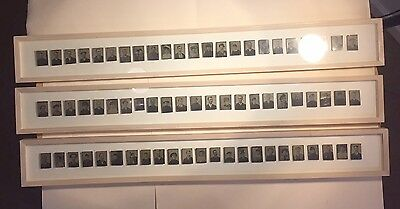 Collection/Lot of 69 Framed Antique 1800's Tintype Photos
