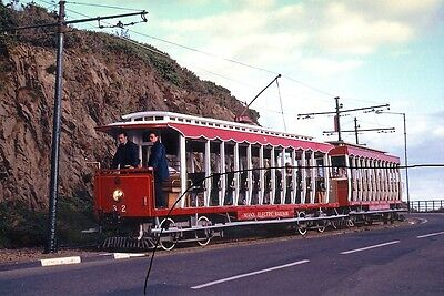 Isle Of Man Tram Photo Picture,manx Electric Railway Toastrack Photograph Car.