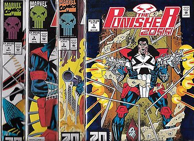 The Punisher 2099 Lot Of 9 - #1 #2 #3 #4 #6 #7 #8 #9 #11 (Nm-) Netflix Tv Series