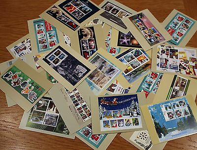 30 Approx Miniature Sheet Mint Phq Cards Mint Condition As Photo