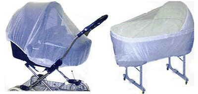 INSECT & BUG NETTING For Bassinets, Carriers and Carriages 240811
