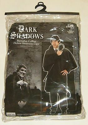 DARK SHADOWS Barnabas Collins Inverness Cape Coat Vampire HALLOWEEN Costume ELOP