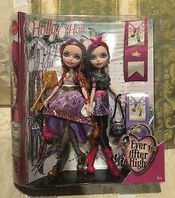 Ever After High Holly and Poppy O'Hair 2-Pack NEW