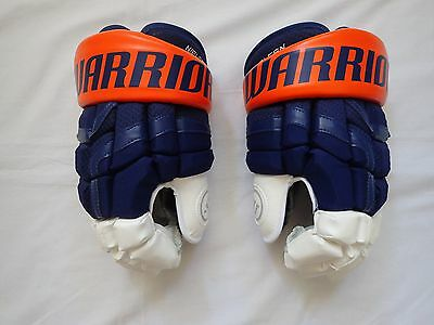 "WARRIOR PRO STOCK COVERT 14"" NHL Hockey Gloves STADIUM SERIES MADE IN CANADA"