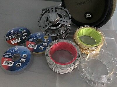Hardy Demon 3000 Fly Reel with spare spools