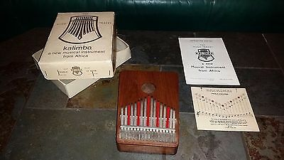 COMPLETE 1966 Hugh Tracey KALIMBA Treble 17 NOTE Musical Instrument S. AFRICA