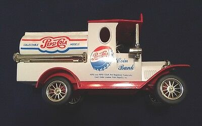 Vintage Pepsi Cola Old Truck Coin Bank
