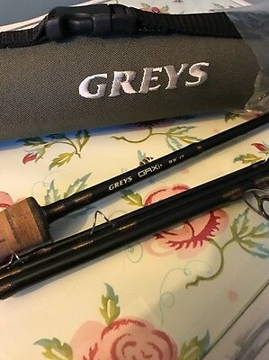 Greys Grxi+ 9ft 6inchs #7 4 Seconds Fly Rod