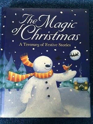 *New* THE MAGIC OF CHRISTMAS -  4 Festive Stories In 1 Book (Hardback)