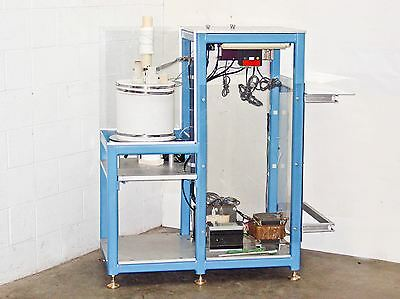 Verticle 3.5 kw Top Loading Tube Furnace with IMS and Omega Controls 7 Inch