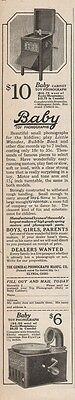 1920 General Phonograph Elyria OH Baby Toy Cabinet Home Mahogany Print Ad