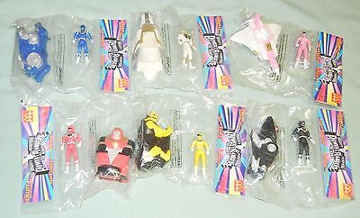 McDONALD'S TOYS - 1995 - SET OF 6 - MIGHTY MORPHIN POWER RANGERS - NEW IN PKG