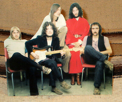 "Fleetwood Mac With Peter Green Rock Music Band Tabletop Standee 9"" Long"