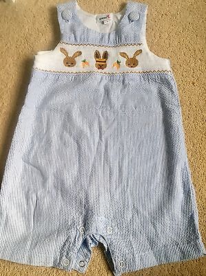 Baby Boys Romper Suit By Aurora Aged 6-12 Months