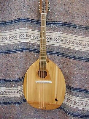 Wishnevsky Octave Mandolin, Cedar top and body, all American woods Oil finish