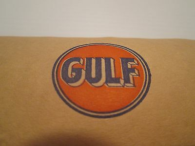 Roll Of 50 Old Gulf Sign On Package Sealing Tape