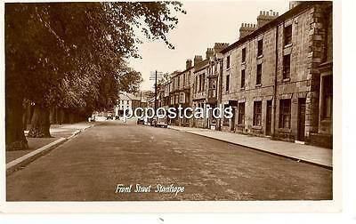 Stanhope  - Front Street -  Old  Real Photo by Adamson
